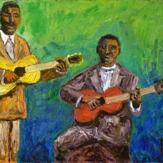 forrest_blues_singers_frank_stokes and_furry_lewis_oil_on_board_11x14_2012_w