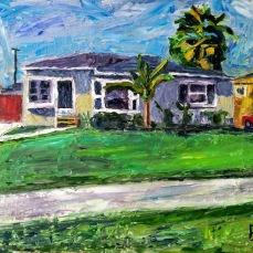 """Inglewood House"" Oil on canvas"