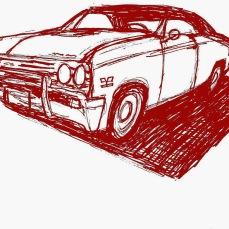 forrest_klassic_karz_1_ink_on_paper_digital_color_overlay_9x12_2014_w