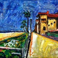 """""""Manhattan Beach 3"""" Oil on canvas"""