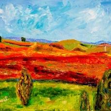 """Napa 1"" Oil on canvas"