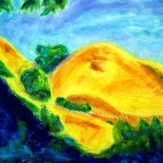 """Petluma"" Oil on canvas"