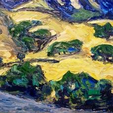 """Petluma Hills"" Oil on Canvas"