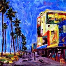 """""""Venice Beach"""" Oil on Canvas"""